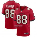 Camiseta NFL Game Tampa Bay Buccaneers Mark Carrier Retired Rojo