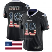 Camiseta NFL Limited Dallas Cowboys Cooper Rush USA Flag Negro