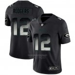 Camiseta NFL Limited Green Bay Packers Rodgers Smoke Fashion Negro