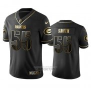 Camiseta NFL Limited Green Bay Packers Za'Darius Smith Golden Edition Negro