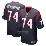 Camiseta NFL Game Houston Texans Max Scharping Azul
