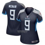 Camiseta NFL Game Mujer Tennessee Titans Steve Mcnair Retired Azul