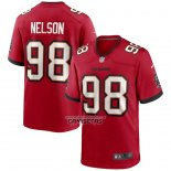 Camiseta NFL Game Tampa Bay Buccaneers Anthony Nelson Rojo