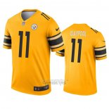Camiseta NFL Legend Pittsburgh Steelers Chase Claypool Inverted Oro