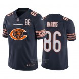 Camiseta NFL Limited Chicago Bears Harris Big Logo Number Azul