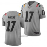 Camiseta NFL Limited Indianapolis Colts Philip Rivers Ciudad Edition Gris