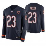 Camiseta NFL Therma Manga Larga Chicago Bears Kyle Fuller Azul