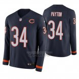Camiseta NFL Therma Manga Larga Chicago Bears Walter Payton Azul