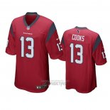Camiseta NFL Game Houston Texans Brandin Cooks Rojo