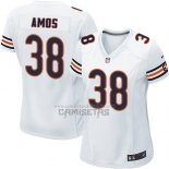Camiseta NFL Game Mujer Chicago Bears Amos Blanco