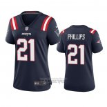 Camiseta NFL Game Mujer New England Patriots Adrian Phillips Azul