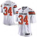 Camiseta NFL Game Nino Cleveland Browns Crowell Blanco