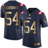 Camiseta NFL Gold Legend New England Patriots Hightower Profundo Azul