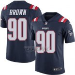 Camiseta NFL Legend New England Patriots Brown Profundo Azul