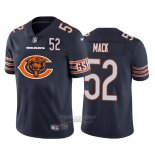 Camiseta NFL Limited Chicago Bears Mack Big Logo Number Azul