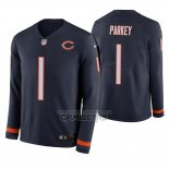 Camiseta NFL Therma Manga Larga Chicago Bears Cody Parkey Azul