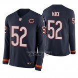 Camiseta NFL Therma Manga Larga Chicago Bears Khalil Mack Azul