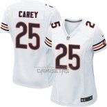 Camiseta NFL Game Mujer Chicago Bears Carey Blanco