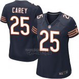 Camiseta NFL Game Mujer Chicago Bears Carey Blanco Azul