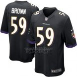 Camiseta NFL Game Nino Baltimore Ravens Brown Negro