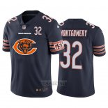 Camiseta NFL Limited Chicago Bears Montgomery Big Logo Number Azul