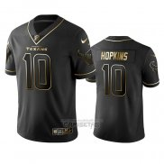 Camiseta NFL Limited Houston Texans Deandre Hopkins Golden Edition Negro