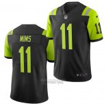 Camiseta NFL Limited New York Jets Denzel Mims Ciudad Edition Negro