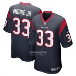 Camiseta NFL Game Houston Texans A.j. Moore Jr. Azul