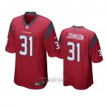 Camiseta NFL Game Houston Texans David Johnson Rojo