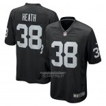 Camiseta NFL Game Las Vegas Raiders Jeff Heath Negro