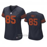 Camiseta NFL Game Mujer Chicago Bears Cole Kmet Throwback Azul