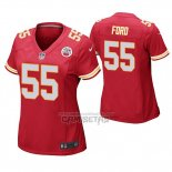 Camiseta NFL Game Mujer Kansas City Chiefs Dee Ford Rojo