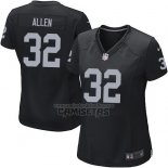 Camiseta NFL Game Mujer Philadelphia Eagles Allen Negro