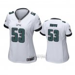 Camiseta NFL Game Mujer Philadelphia Eagles Jatavis Brown Blanco