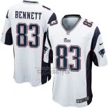 Camiseta NFL Game Nino New England Patriots Bennett Blanco