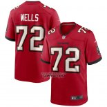 Camiseta NFL Game Tampa Bay Buccaneers Josh Wells Rojo