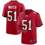 Camiseta NFL Game Tampa Bay Buccaneers Kevin Minter Rojo