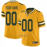 Camiseta NFL Legend Green Bay Packers Personalizada Amarillo
