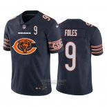Camiseta NFL Limited Chicago Bears Foles Big Logo Number Azul