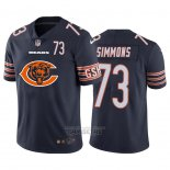 Camiseta NFL Limited Chicago Bears Simmons Big Logo Number Azul