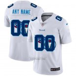 Camiseta NFL Limited Tennessee Titans Personalizada Logo Dual Overlap Blanco
