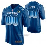 Camiseta NFL Pro Bowl Green Bay Packers Personalizada Azul