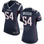 Camiseta NFL Game Mujer New England Patriots Bruschi Negro