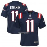 Camiseta NFL Game Nino New England Patriots Julian Edelman Azul