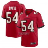 Camiseta NFL Game Tampa Bay Buccaneers Lavonte David Rojo