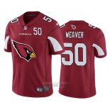Camiseta NFL Limited Arizona Cardinals Weaver Big Logo Number Rojo