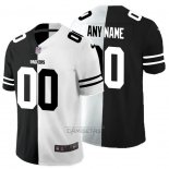 Camiseta NFL Limited Green Bay Packers Personalizada Black White Split
