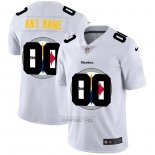 Camiseta NFL Limited Pittsburgh Steelers Personalizada Logo Dual Overlap Blanco