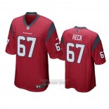 Camiseta NFL Game Houston Texans Charlie Heck Rojo