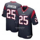 Camiseta NFL Game Houston Texans Duke Johnson 25 Azul